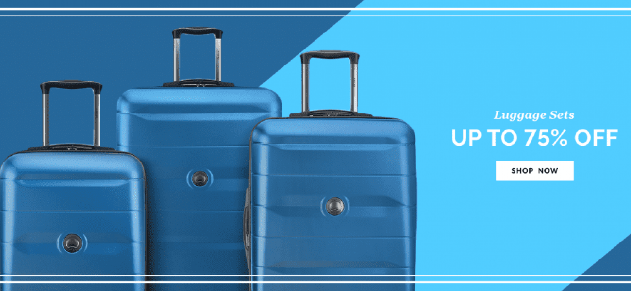 Luggage Sets - Up to 75% Off - Shop Now